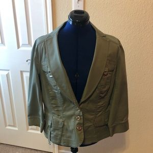 Amazing Olive Color Lightweight Jacket